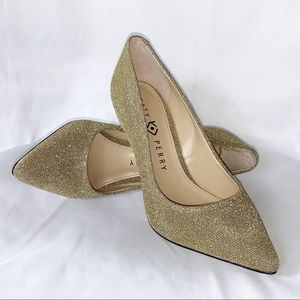 Katy Perry Collection | The Sissy Gold Heels